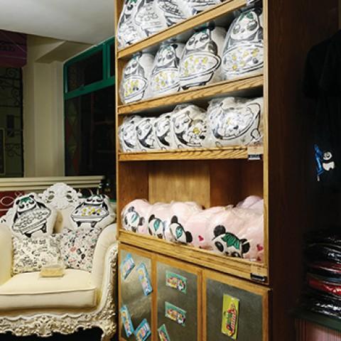 梳打熊貓產品設計