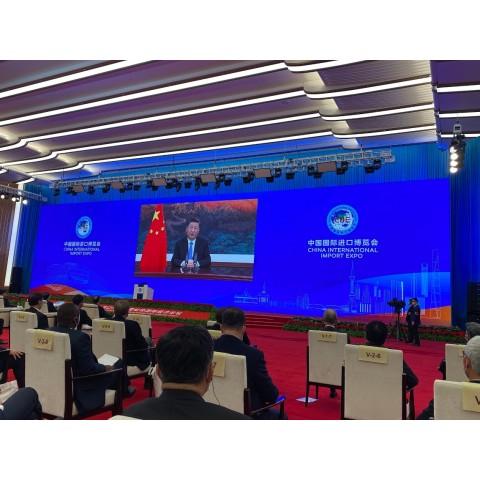 """[2020/11/04] """"第三届中国国际进口博览会""""开幕 澳门特区政府及企业家代表团出席"""
