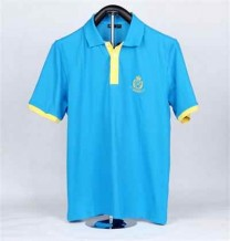 Man Short-sleeve Blue Polo