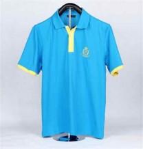 男裝藍色POLO 衫