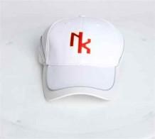 運動帽(白色)