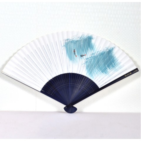 Double-side Hand-painted Paper Fan