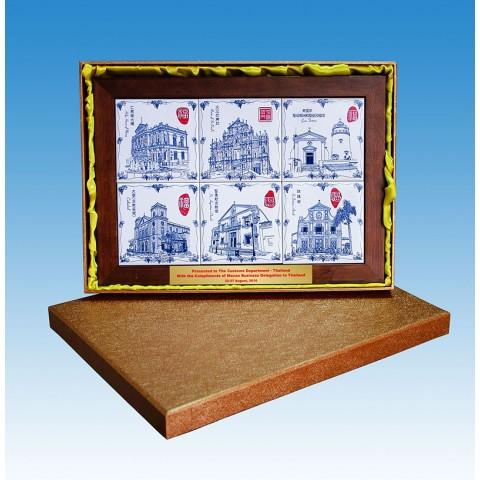 葡人事跡瓷砖画