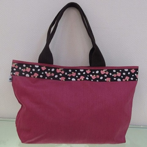 Handbag with Flower Belt 06
