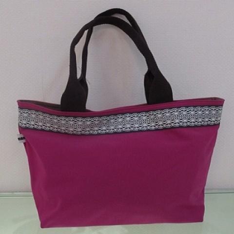 Handbag with Flower Belt 08
