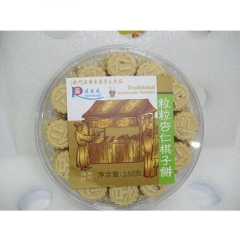 粒粒杏棋子饼