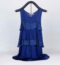 Vestido Hierárquico Azul