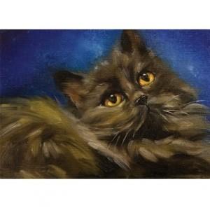 Retrato de Gato na Casa 2
