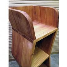 Elm Wood Decoration Cabinet 1b