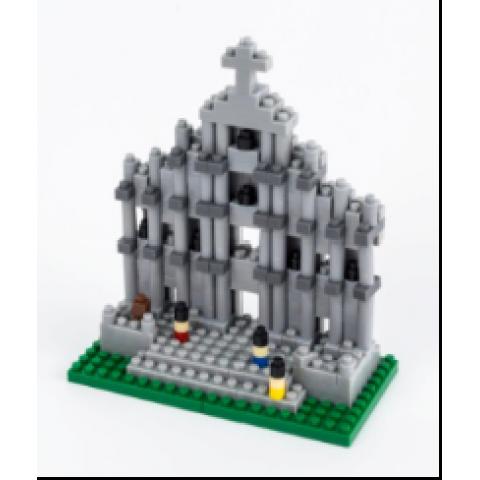 Small plastic building blocks - Ruins of St. Paul's