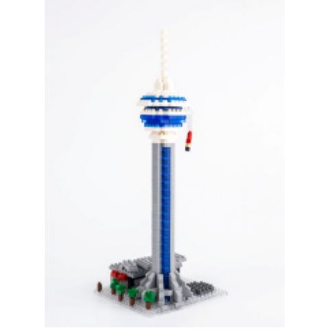 以澳門旅遊塔爲主題的積木玩具