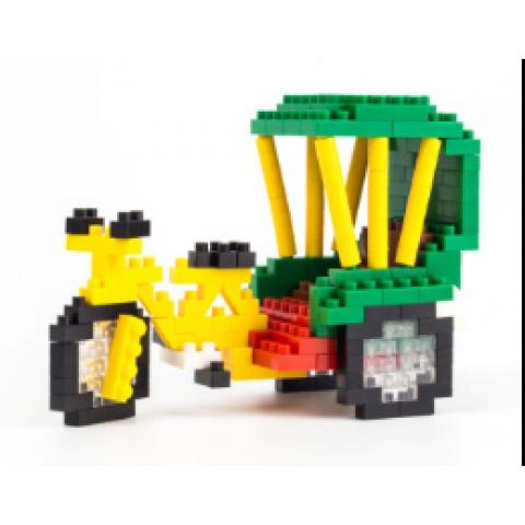Pequeno Blocos De Construção - Triciclo