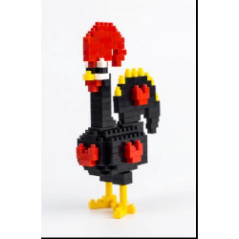 以葡國雞爲主題的積木玩具