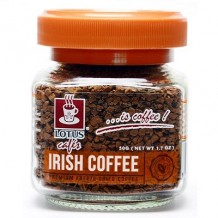 莲花爱尔兰风味速溶咖啡