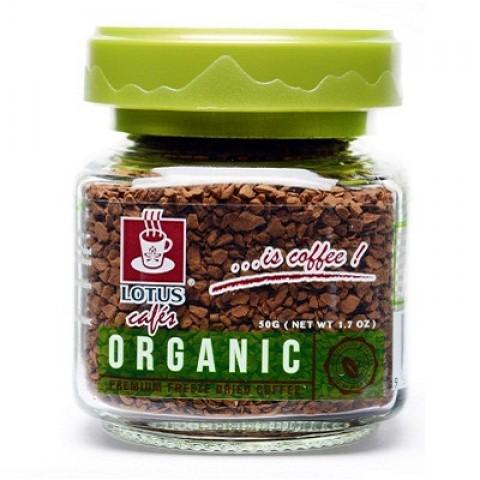 莲花哥伦比亚有机速溶咖啡