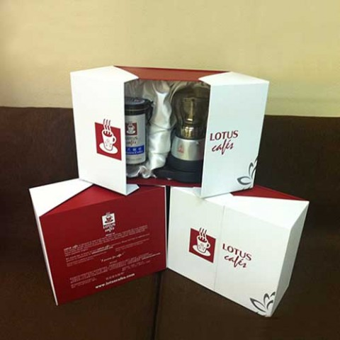 Coffee Gift Box:Electric Mocha Coffee Pot+250g Portuguese Ground Coffee