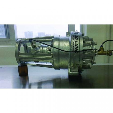 Spiral-type Compressed Air Power Engine for Vehicle
