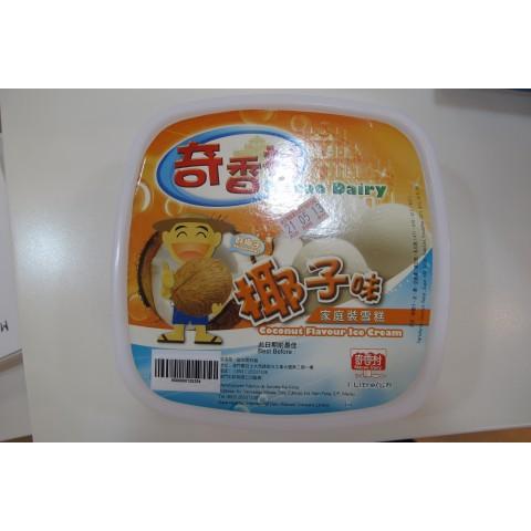 奇香村雪糕系列-1 Litre盒 (椰子)