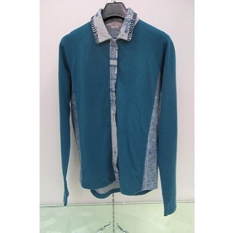 Indigo Boyfriend Cut Shirt Jacket
