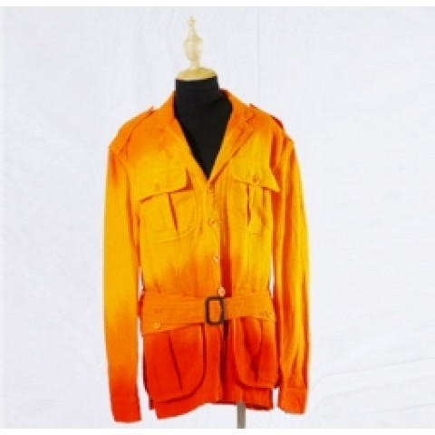 Orange Color Men's Blazer