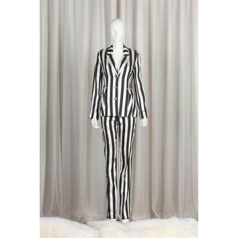 Black and White Stripe Set