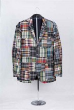 Dark Check Man Jacket