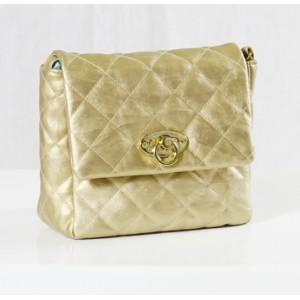 Golden Small Handbag