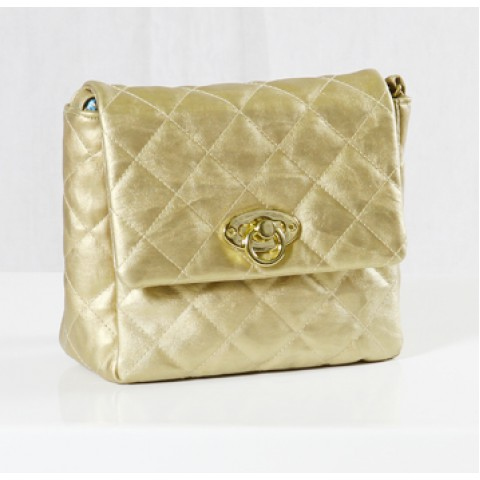 Golden Small Handbag