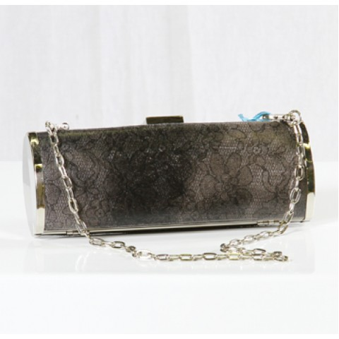Gray Evening Bag