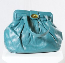 Turkish Blue Handbag