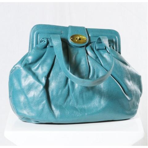 Turkish Blue Handbag