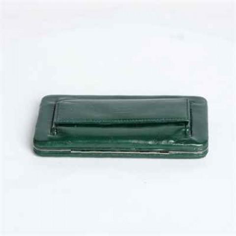 墨绿色钱夹