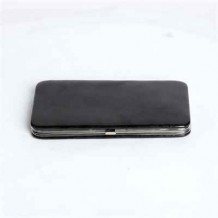 Patent Leather Black Case Wallet