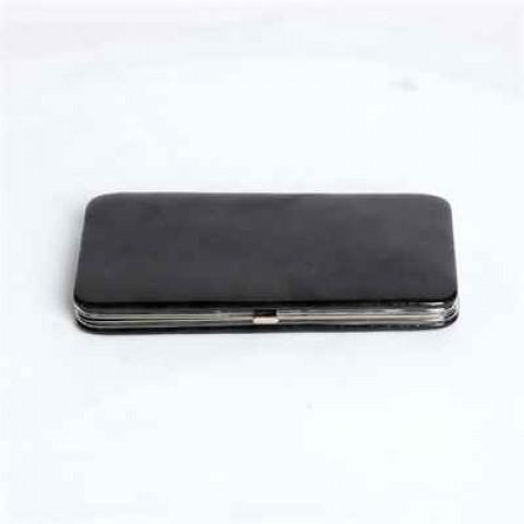 Patent Leather Black Case Wallet