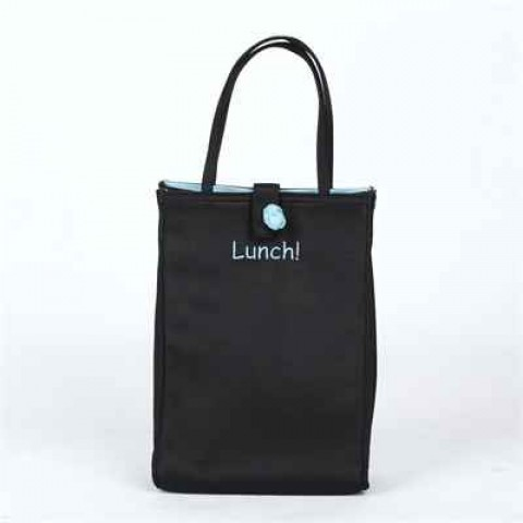 Dark Blue Canvas Bag