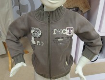 Gray Kids Jacket