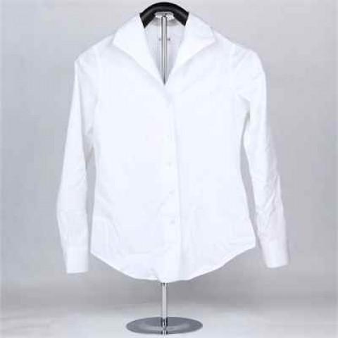 MinM白色polo恤