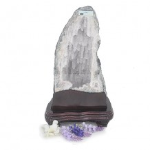Amethyst geode is a violet-coloured variety of quartz
