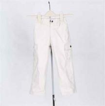 杏色童装裤