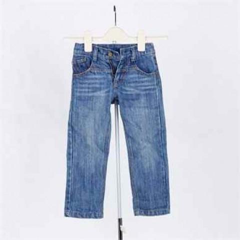 藍色牛仔童裝褲