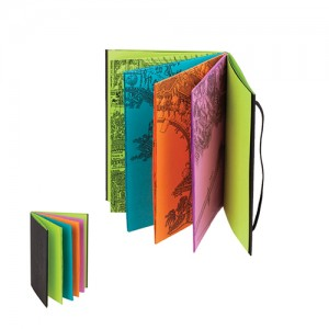 彩色笔记簿