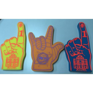 Macau cultural & creative sponge gloves