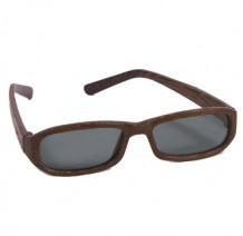 木制眼镜 (深啡长方形)
