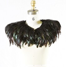 Feather Garment (Black Short Version)