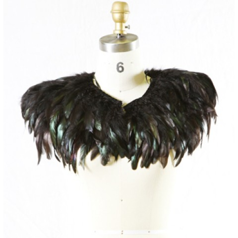 Feather Garment (Preto Versão Curta)