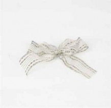 Ribbon Accessories (Silver Stripes)