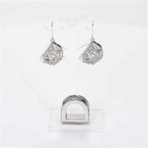 Ring + Earrings Set