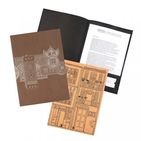 环保牛皮纸文件夹系列