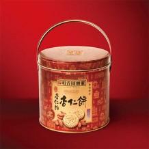 罐装杏仁饼