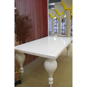 Long White Table